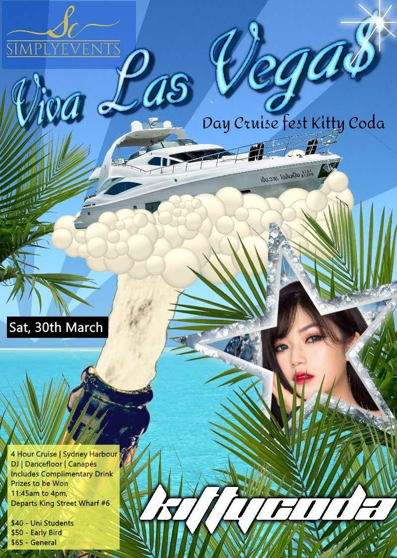Contest Entry #5 for Flyer for Cruise Party Event