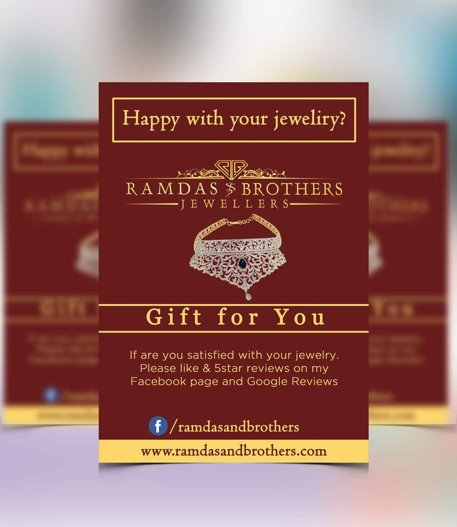 Contest Entry #32 for A4 and A3 size Advertisement for a Jewelry Store -- 2