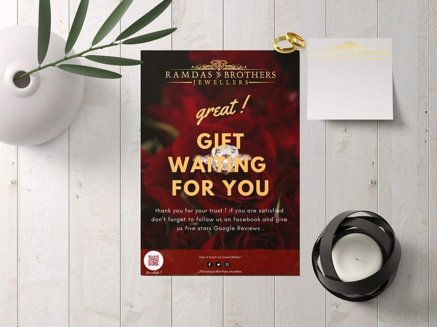 Kilpailutyö #12 kilpailussa A4 and A3 size Advertisement for a Jewelry Store -- 2