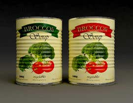"#35 pentru I need a logo for a 2D artist. It must be a soup can with a ""Broccoli Soup"" title. de către coc3dart"