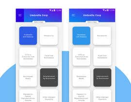 #16 pentru Design for tile based menu in mobile app de către DiponkarDas