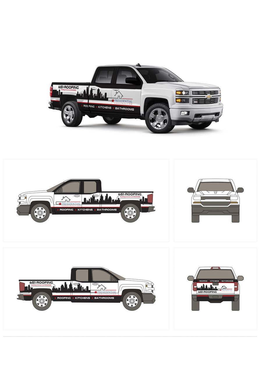 Proposition n°142 du concours Professional Business Vehicle Wrap ($625.00)