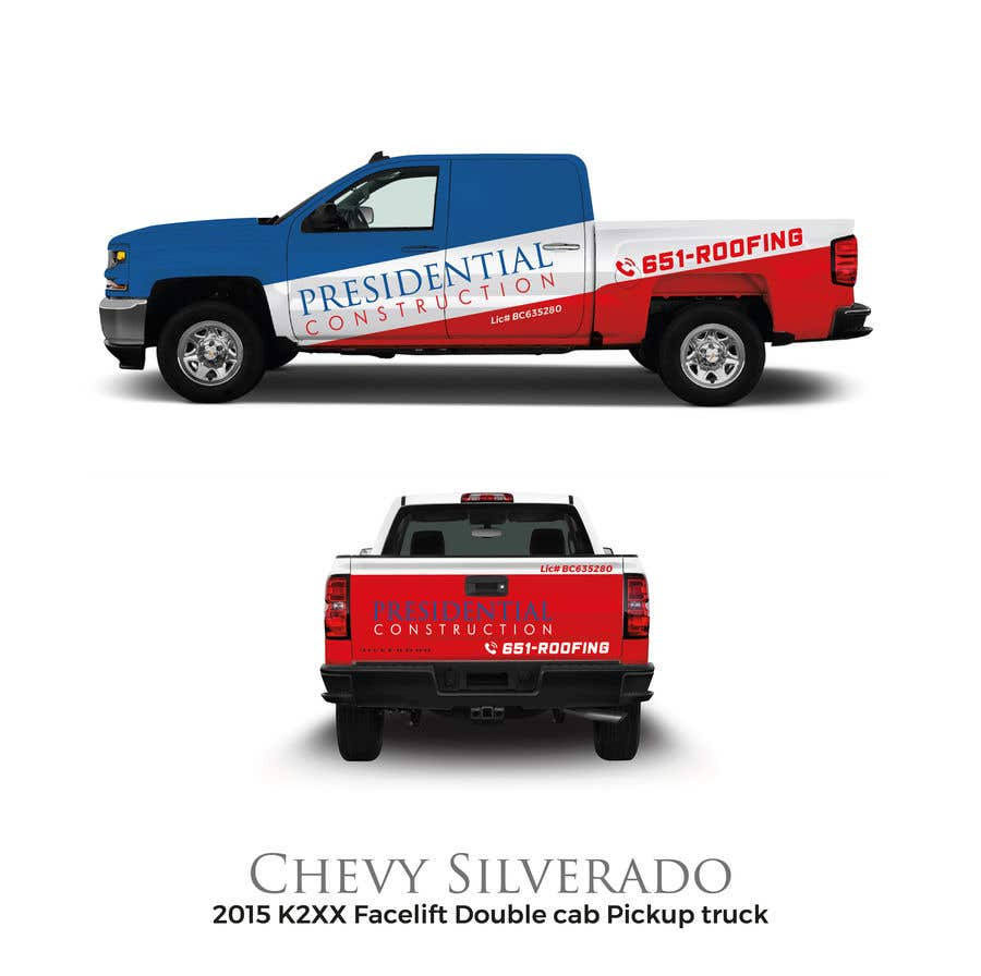 Proposition n°108 du concours Professional Business Vehicle Wrap ($625.00)