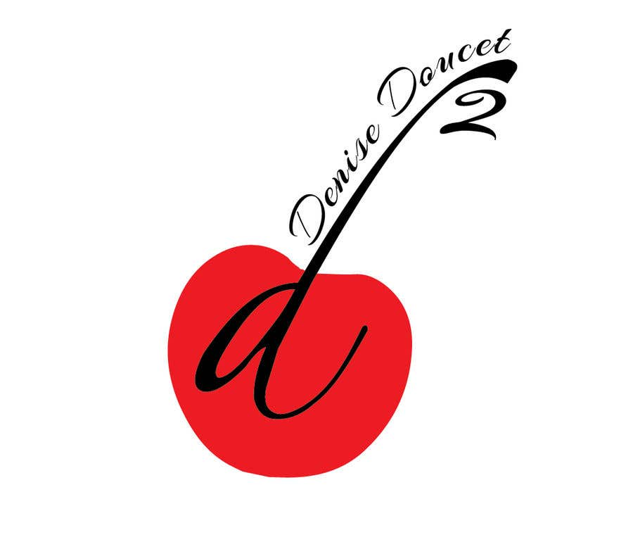 Конкурсная заявка №4 для I would like to rework the red dot logo with my tag line of Dedicated & Determined going up the stem of the cherry.  I've attached a sample of how it appears on my letterhead. I want to remove the wording from underneath the logo (red dot)
