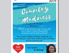 nº 93 pour A4 Flyer for Church Youth and Young Adult Camp par pranavshaj
