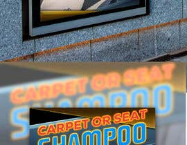 """#18 untuk Sign/Poster for """"Carpet or Seat Shampoo"""" oleh pherval"""