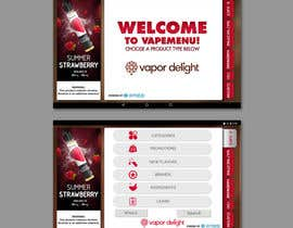 #61 для Vapemenu Tablet App Redesign Contest от transformindesi9