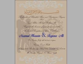 #43 for Need a Wedding Invitation Card by Newlanser12