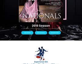 arafathhshemanto tarafından 2019 USA Dance National Dancesport Championship Web Page için no 20