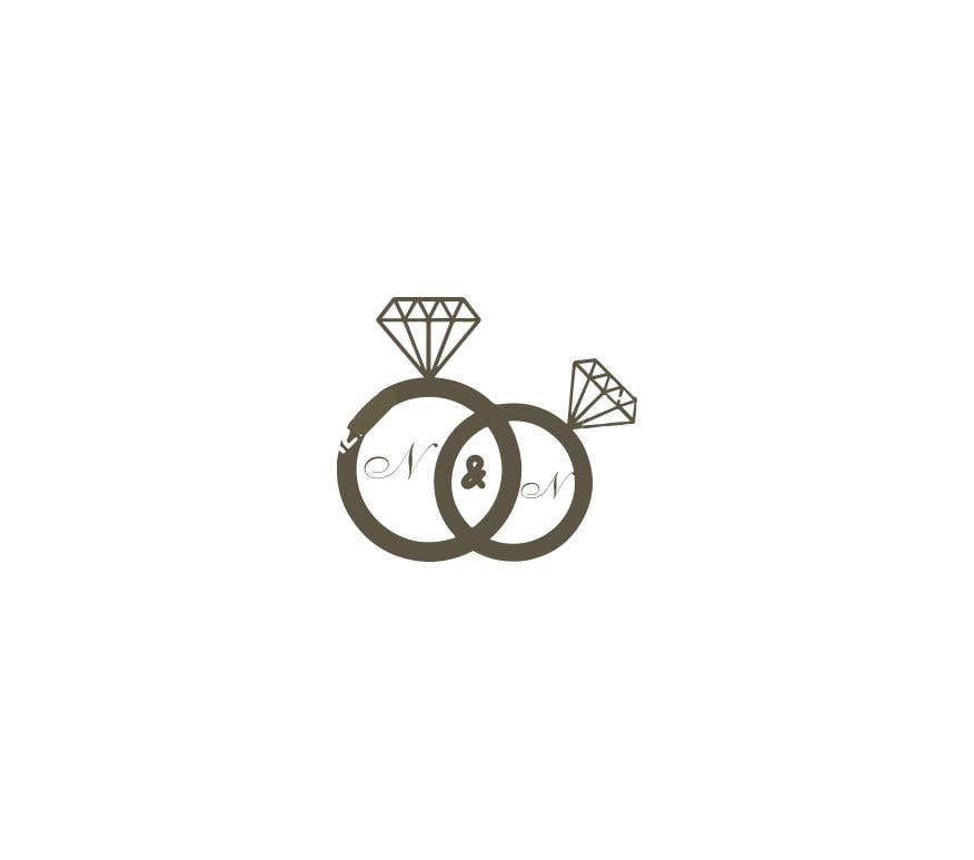 Kilpailutyö #320 kilpailussa Our wedding logo