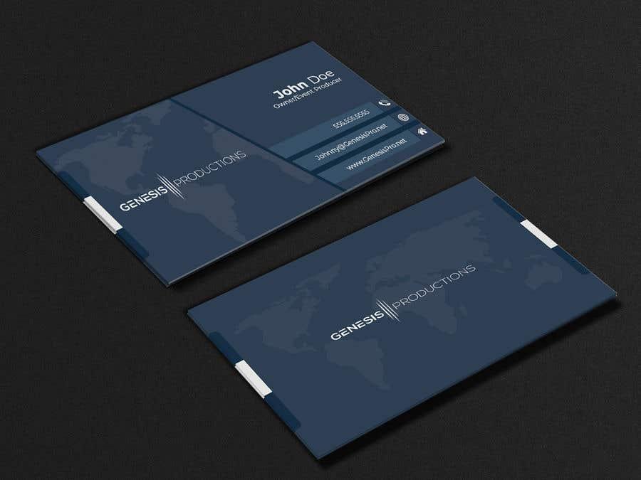 Penyertaan Peraduan #182 untuk Business Card Layout