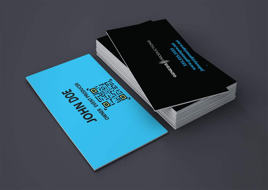Penyertaan Peraduan #207 untuk Business Card Layout