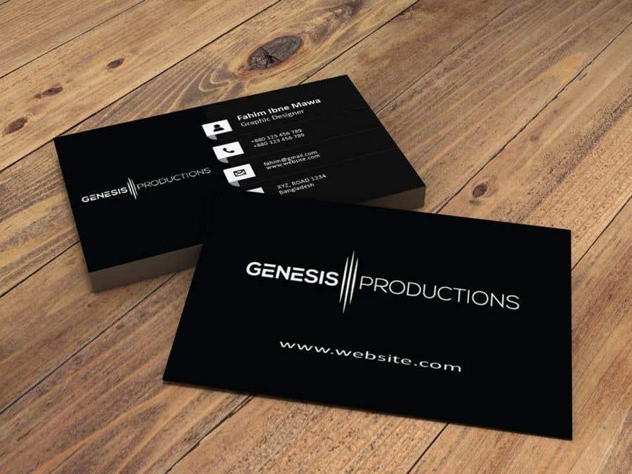 Penyertaan Peraduan #66 untuk Business Card Layout