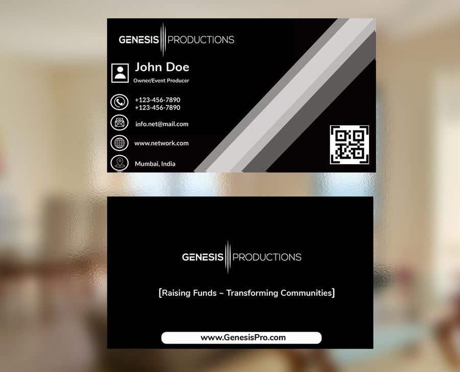 Penyertaan Peraduan #65 untuk Business Card Layout