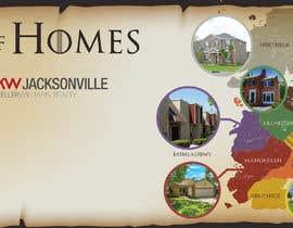 #12 para Realtor Game of Homes Map & Matching Facebook Cover Design por Badraddauza