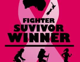 #14 for T shirt design for Breast Cancer fundraiser by kerrtoonz17