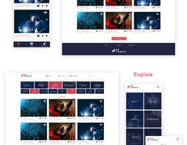 #9 untuk Design UI/UX for event ticketing web app (desktop & mobile) oleh JuliaKampf