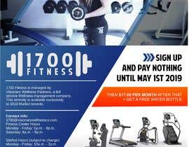 #1 for Announcement flier for fitness center opening by ridwantjandra