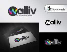 #32 para Logo Design for wall arts online store por chico6921
