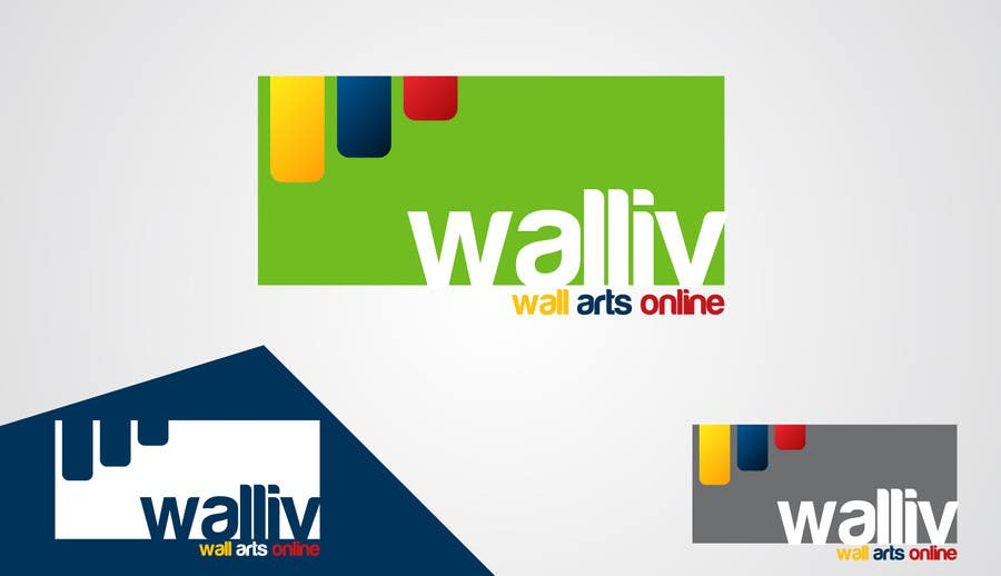 Contest Entry #                                        49                                      for                                         Logo Design for wall arts online store