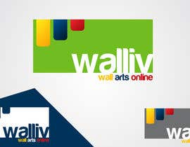 #49 para Logo Design for wall arts online store por taganherbord