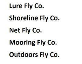 #95 untuk Brand Name for fly fishing gear/apparel company. oleh contactfreelance