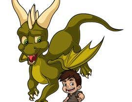 #10 cho Illustration of Linus & Dragon bởi Rotzilla