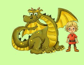 #13 cho Illustration of Linus & Dragon bởi ibrahimkaldk
