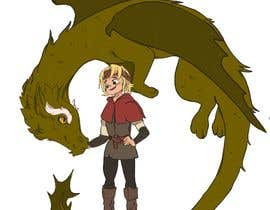 #55 cho Illustration of Linus & Dragon bởi valeriapotaichuk