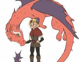 #56 cho Illustration of Linus & Dragon bởi valeriapotaichuk