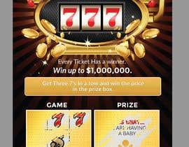 nº 2 pour Designing a Lotto Ticket par leandeganos