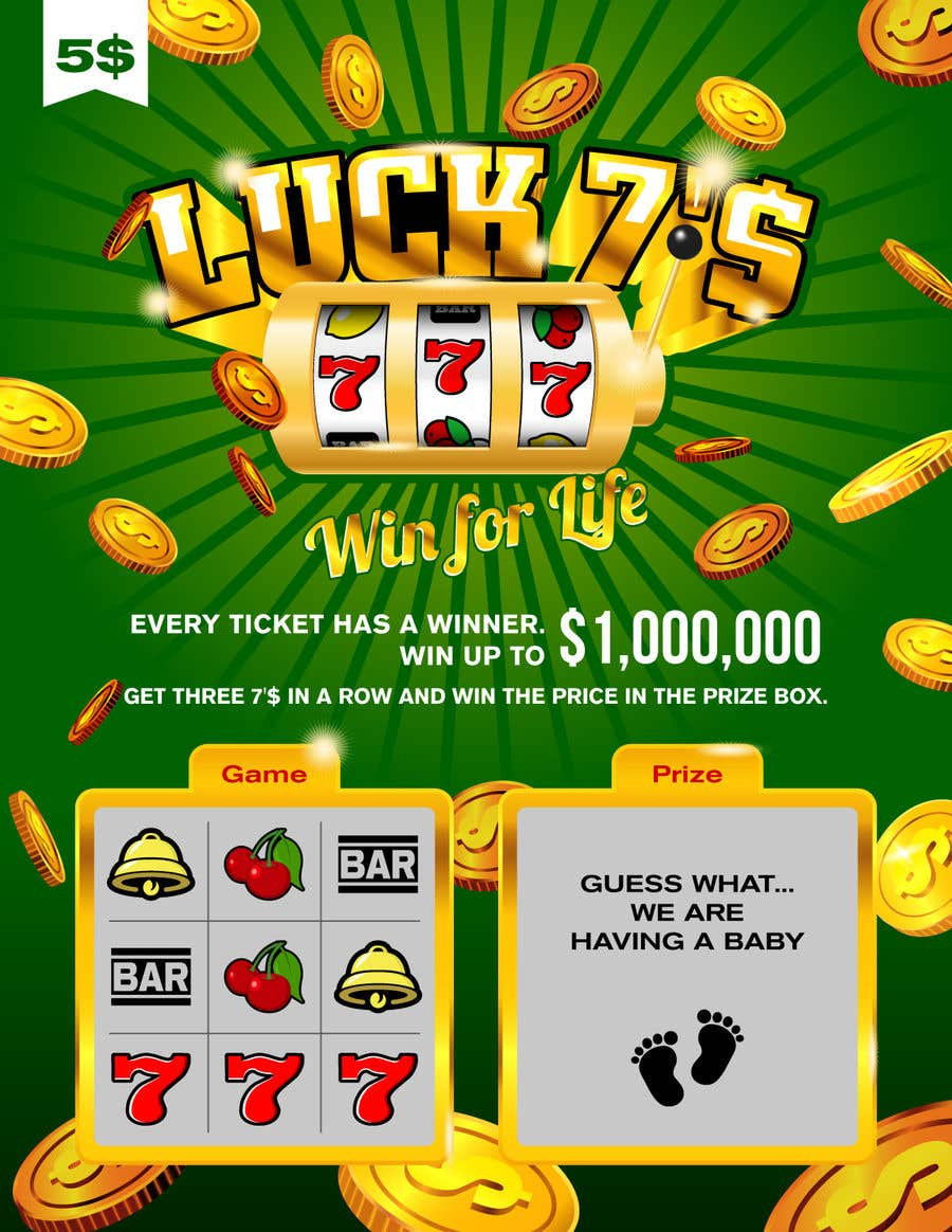 Proposition n°5 du concours Designing a Lotto Ticket