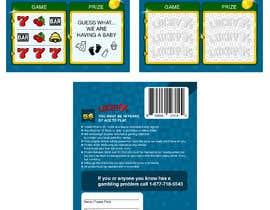nº 23 pour Designing a Lotto Ticket par kalaja07
