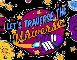 #1 for logo & coloring sheet - Let's Traverse the Universe by ThinkArt007