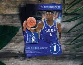Nro 3 kilpailuun Sports Trading Card Design For Press Printing käyttäjältä tonodesign