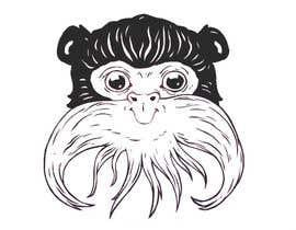 #11 untuk Make Cartoon Drawing of Face Of Tamarin Monkey oleh EmePanda