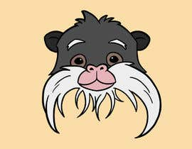 #17 untuk Make Cartoon Drawing of Face Of Tamarin Monkey oleh graciatjendera