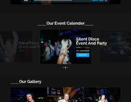 #5 for Simple website design and backend for eventcalender, gallery and form af saidesigner87