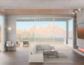 nº 27 pour Blender living room & interior 3D Design par GagiLupic