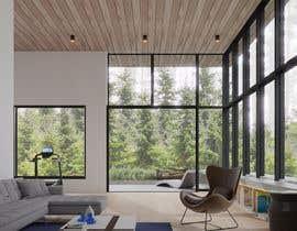 nº 7 pour Blender living room & interior 3D Design par beehive3dworks
