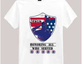 nº 21 pour Design Patriotic Tshirt Design par victoriaidem1