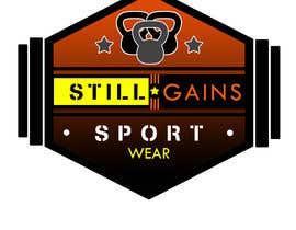 "#85 para Clean Professional Fitness Lifestyle Logo ""STILL GAINS"" por kenko99"