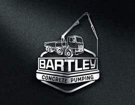 "#86 pentru Logo for ""Bartley Concrete Pumping"". Our concrete foundation business uses the Bartley Corp logo (see bartleycorp.com for more) Other pic are boom pump concrete examples. Use your creativity to perhaps combine a both pics & make it easy to read our name de către Designexpert98"