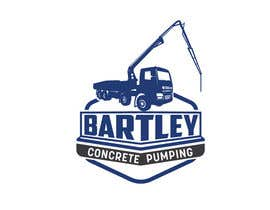 "#122 pentru Logo for ""Bartley Concrete Pumping"". Our concrete foundation business uses the Bartley Corp logo (see bartleycorp.com for more) Other pic are boom pump concrete examples. Use your creativity to perhaps combine a both pics & make it easy to read our name de către Designexpert98"