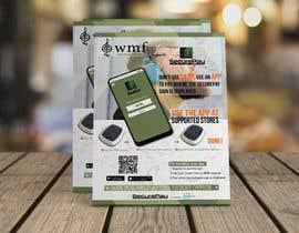 Nro 12 kilpailuun Flyer for an app download at a music festival käyttäjältä evansray17