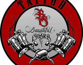 #12 untuk Design Tattoo Logo From a Provided Mock Up oleh deatharg