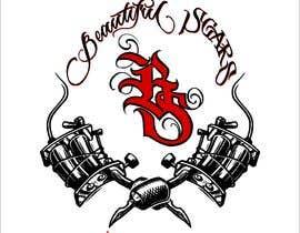 #11 untuk Design Tattoo Logo From a Provided Mock Up oleh hossaingpix