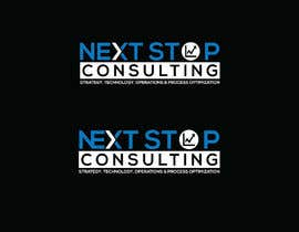 #824 for LOGO for: Next STOP Consulting by herobdx