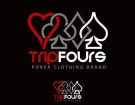 Nro 41 kilpailuun Logo for Poker Clothing Brand käyttäjältä AshishMomin786