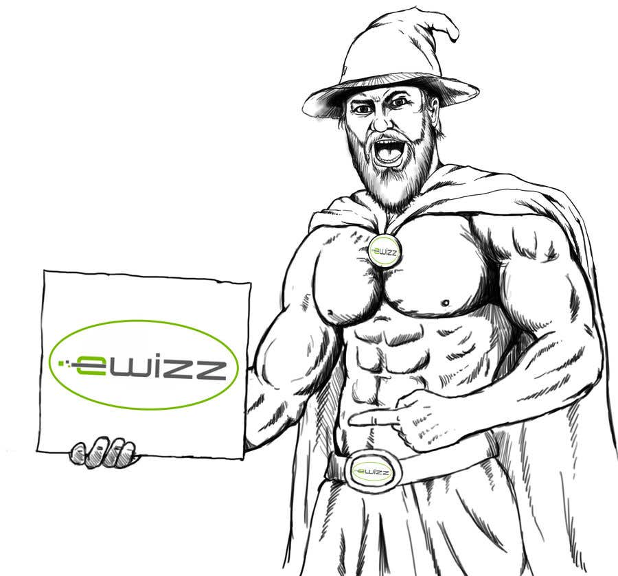Contest Entry #106 for Create Awesome Muscle Bound Wizard for High-end Web Design